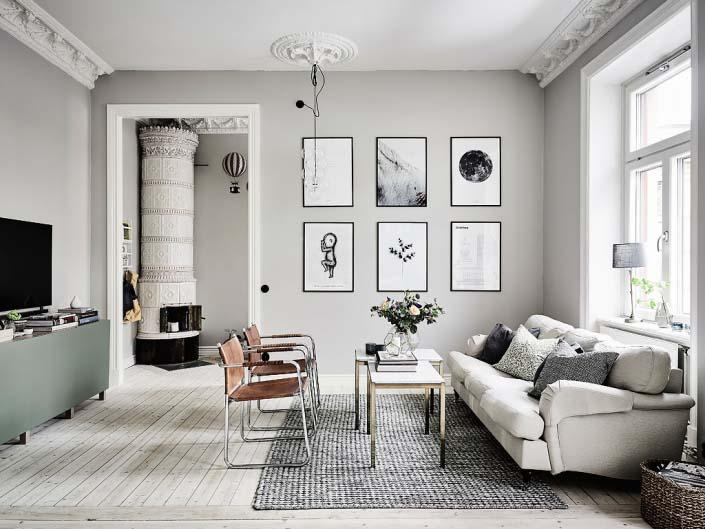 phòng khách đơn giản