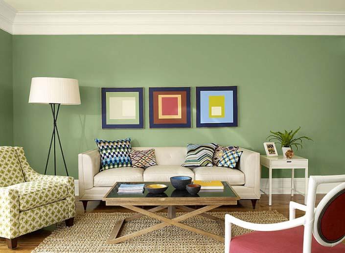 Không gian phòng Living room đẹp