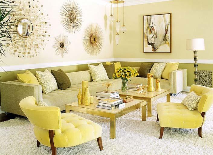 Diện tích phòng Living room đẹp