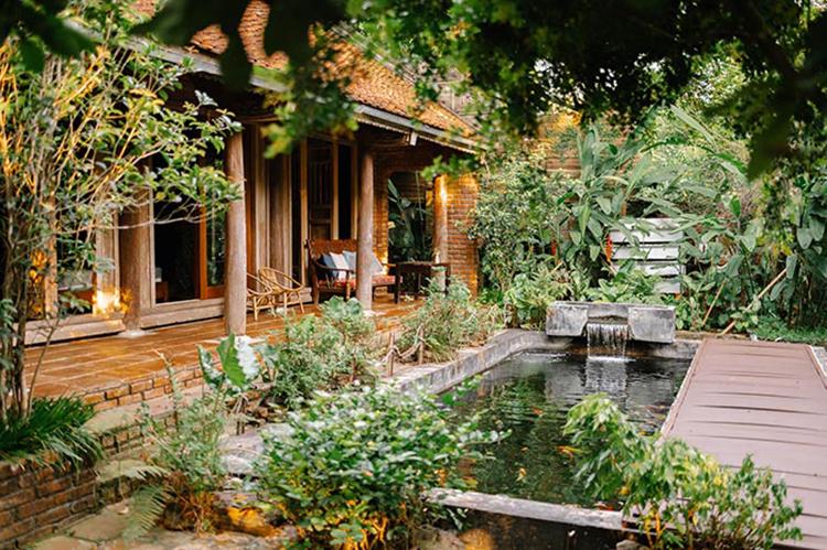 Vị trí bố trí sân vườn đẹp
