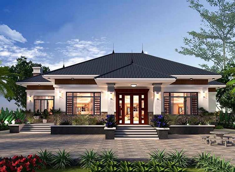Nhà cấp 4 kiến trúc Nhật Bản