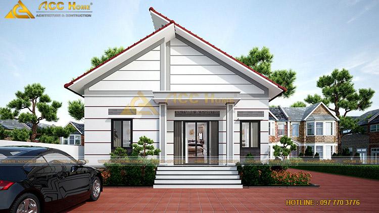 Ưu điểm của nhà mái thái 2 tầng