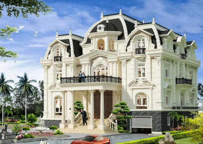 Biệt thự 3 tầng kiểu Pháp là gì?