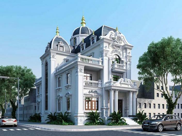 Cách lựa chọn đơn vị thiết kế biệt thự Pháp 3 tầng chuyên nghiệp