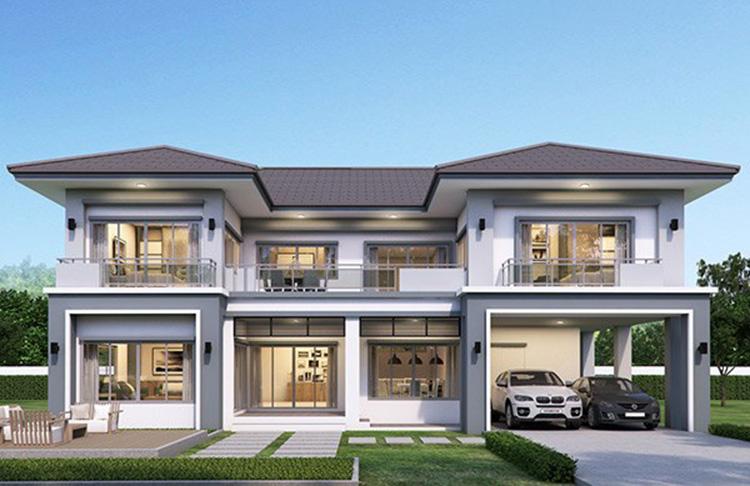 Có điểm nhấn của kiến trúc